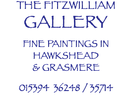 THE FITZWILLIAM GALLERY FINE PAINTINGS IN HAWKSHEAD & GRASMERE 015394 36248 / 35714
